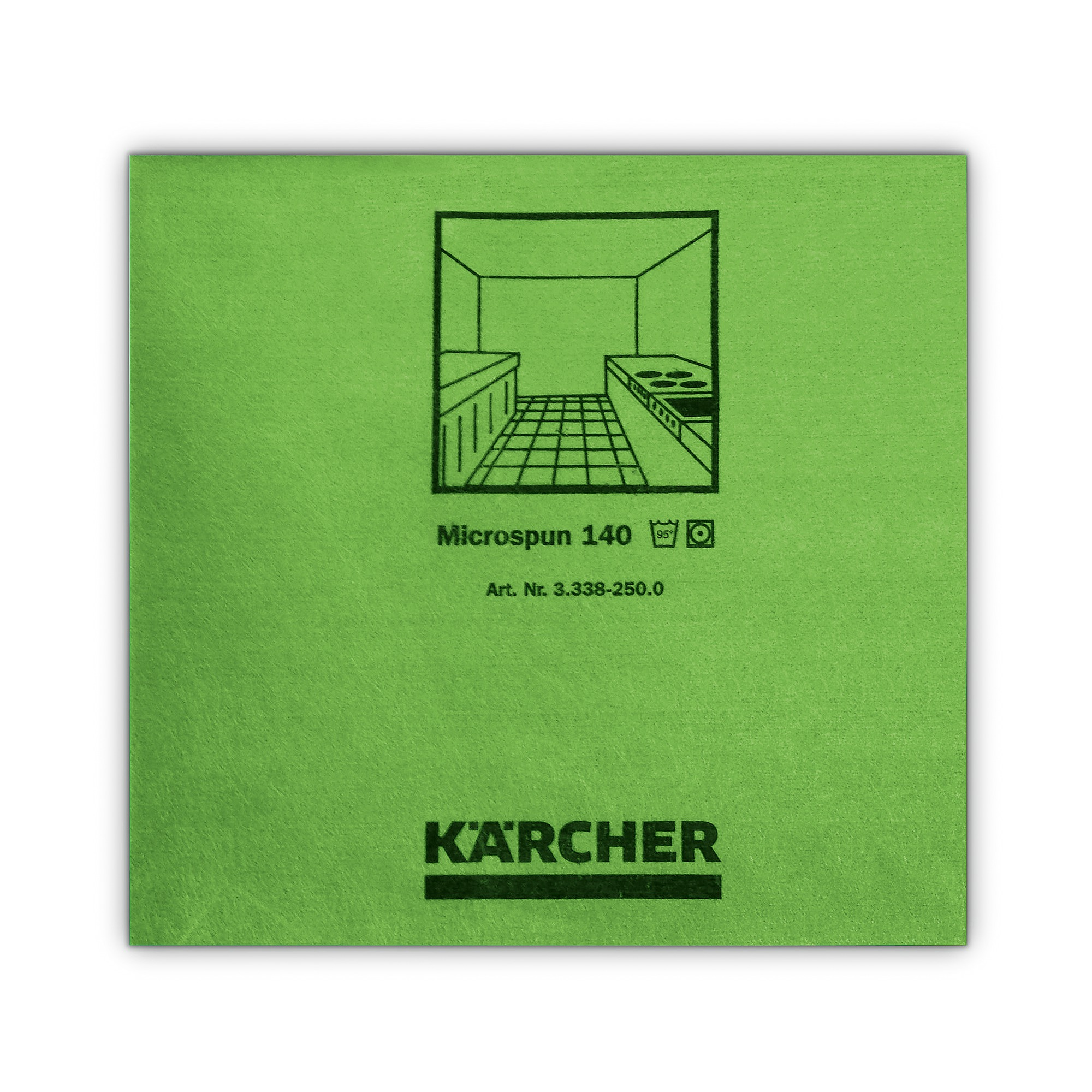 Mikrofasertuch Microspun grün