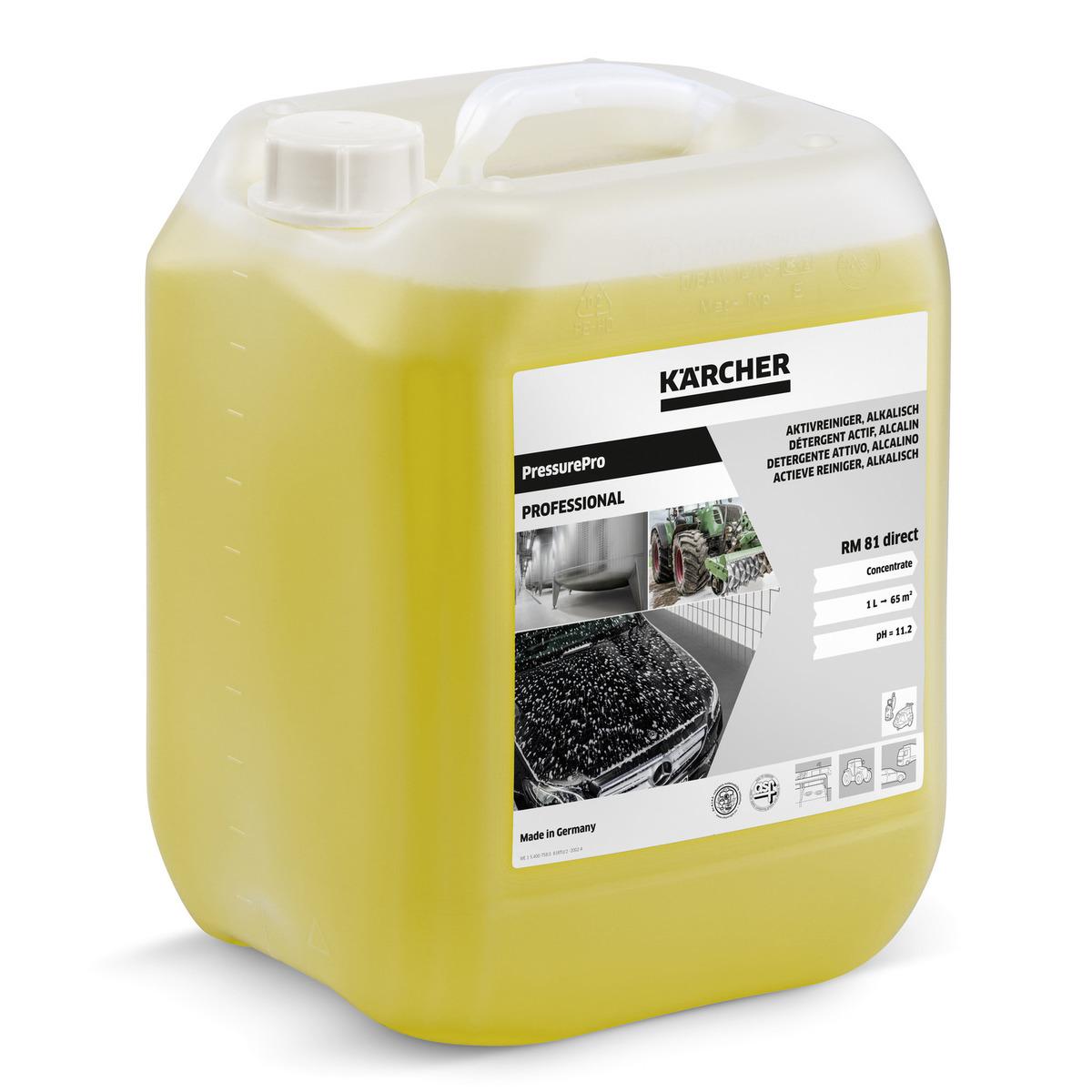 PressurePro Aktivreiniger, alkalisch RM 81 direct, 10l