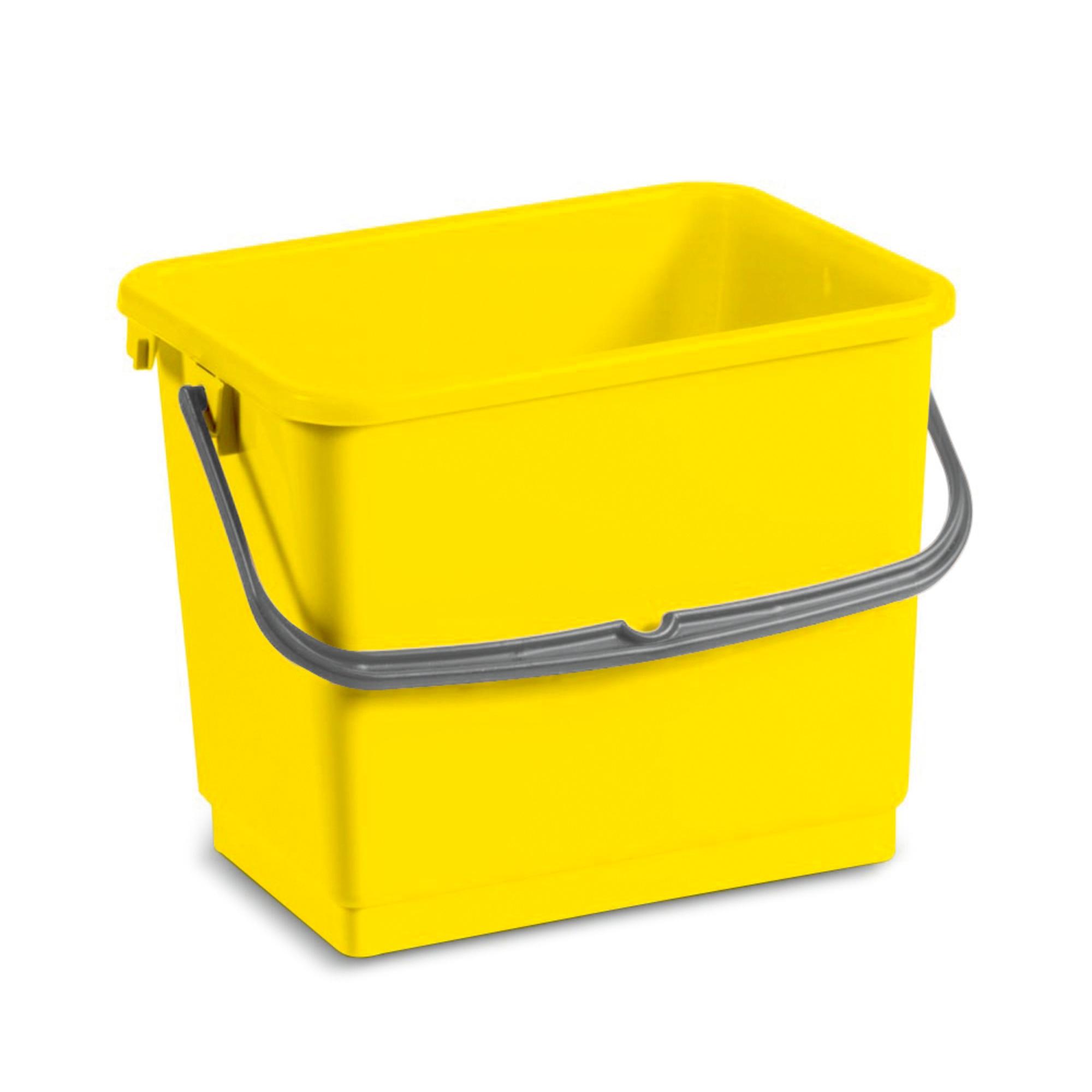 Eimer gelb 4 Liter