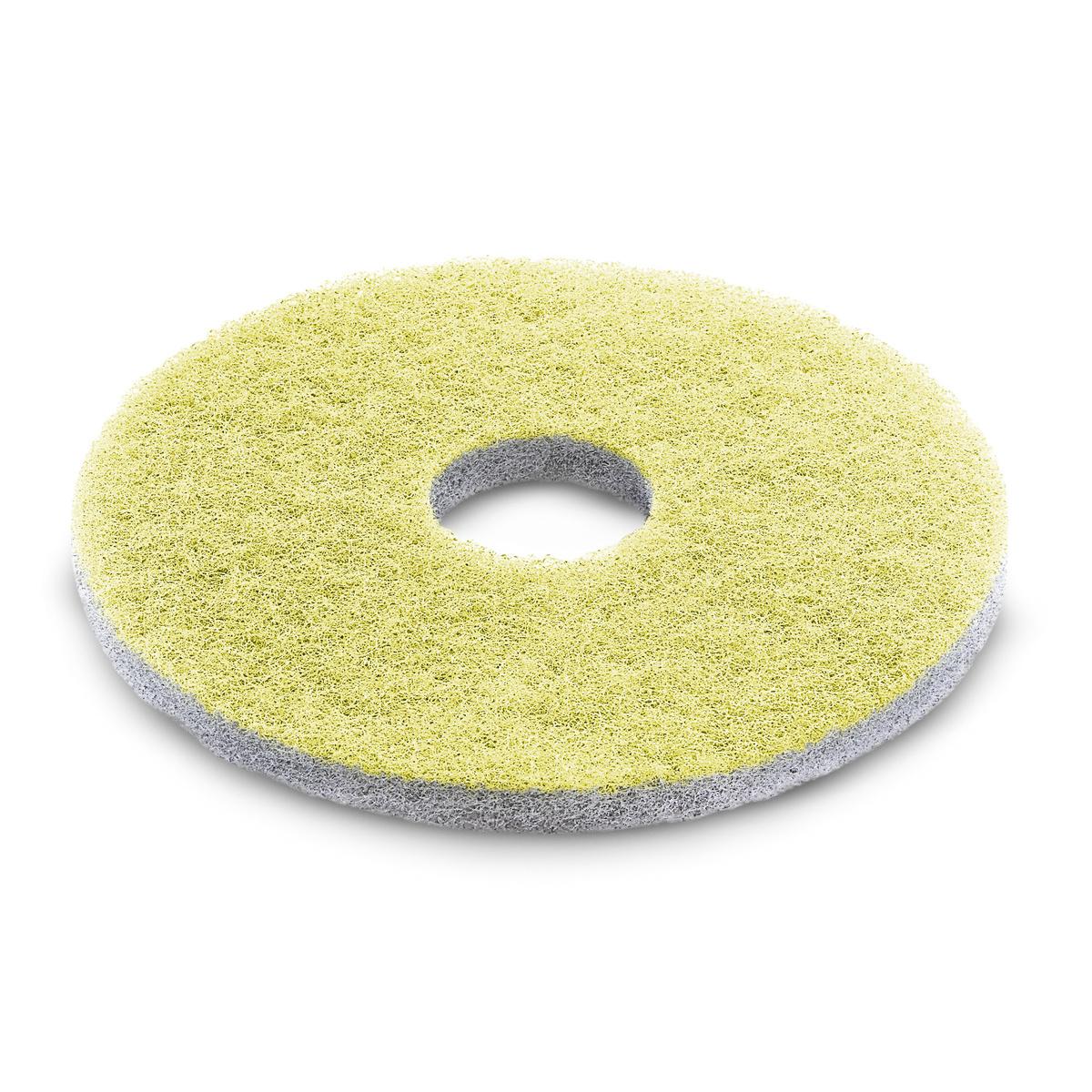 Diamantpad, mittel, gelb, 385 mm, 5 St.