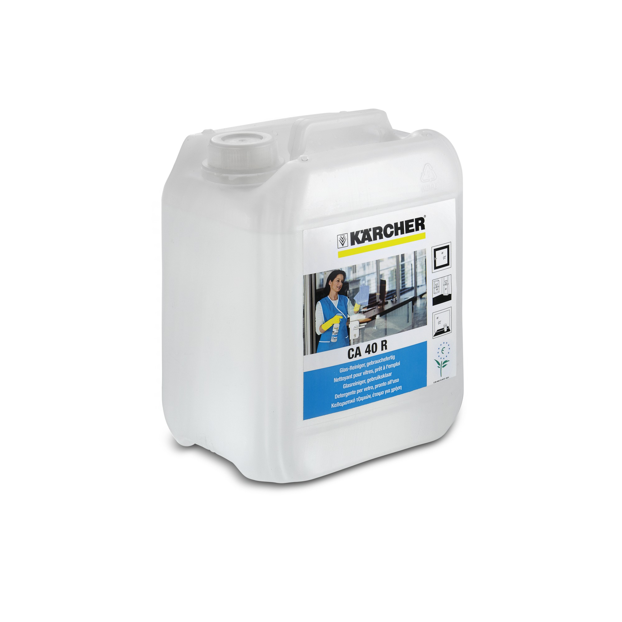 Glasreiniger, gebrauchsfertig  CA 40 R   5 l