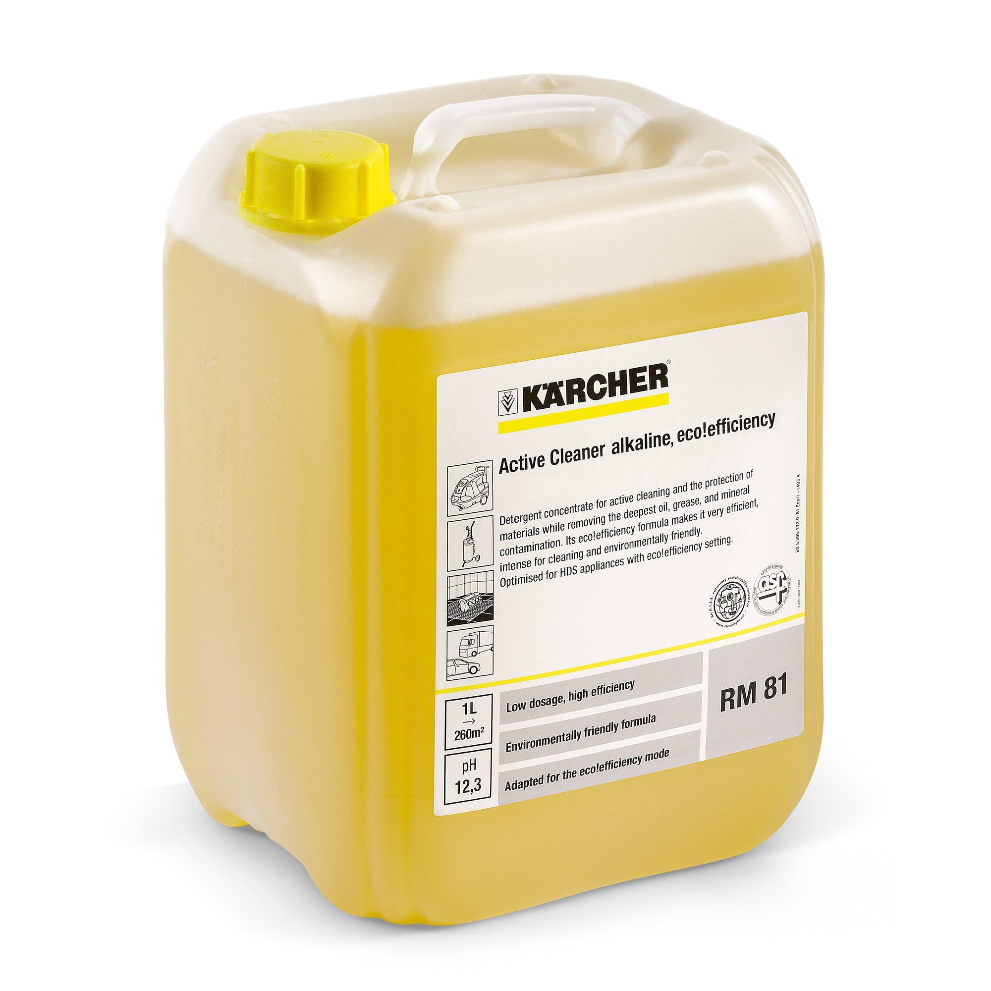 Aktivreiniger, alkalisch RM 81 ASF eco!efficiency, NTA-free  20 l