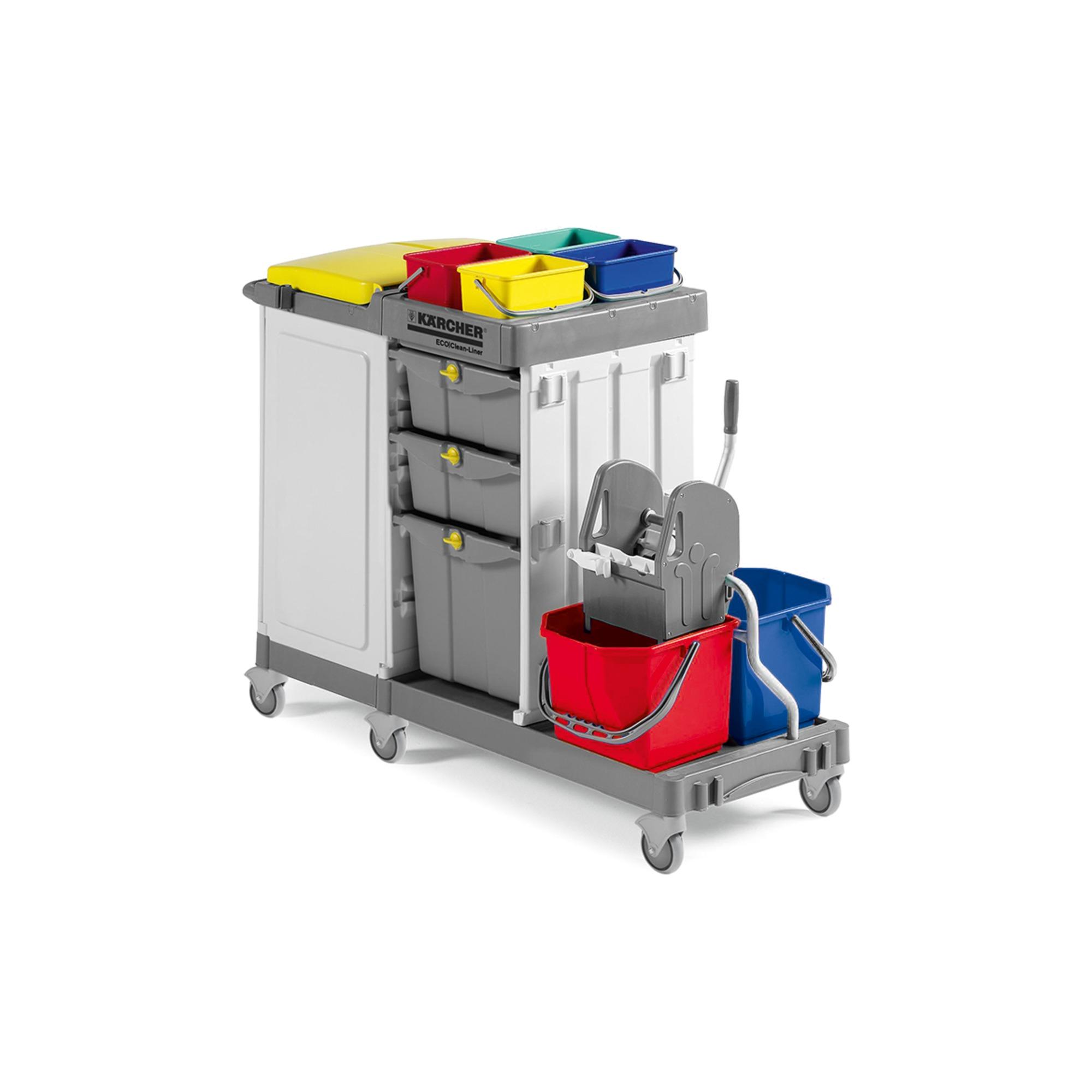 Trolley ECO!Clean Liner Press